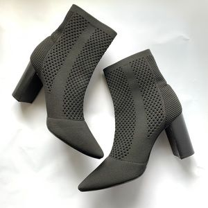 Charles David // Banker Knit Perforated Booties 10